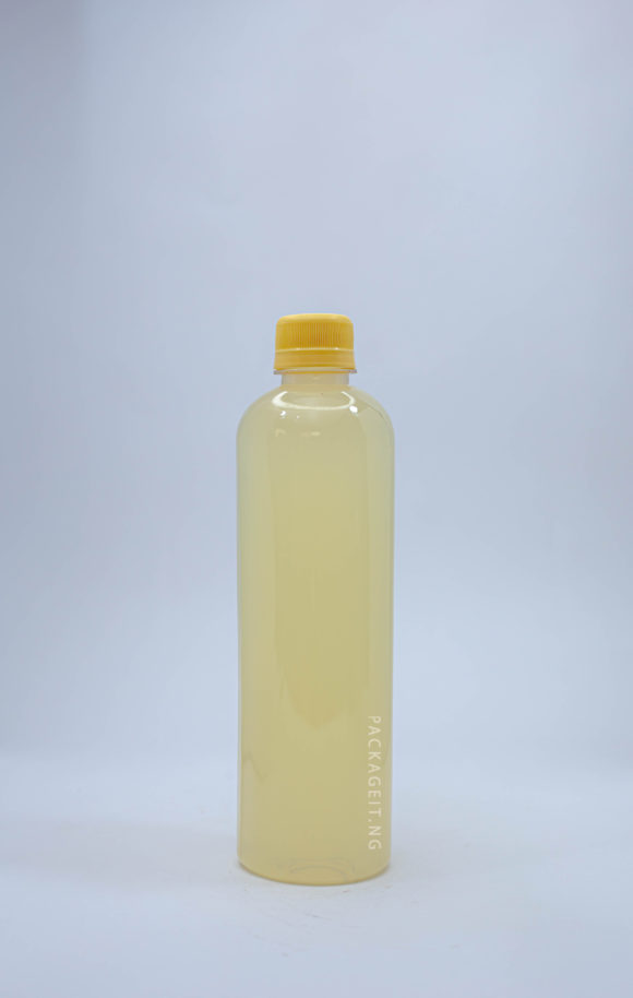 500ml bv with screw cap for juice and beverages