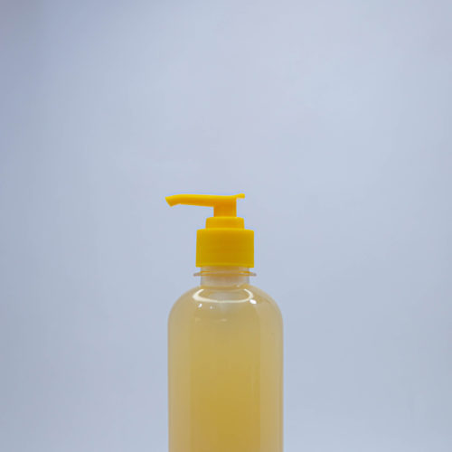 500ml bv with pump cap for soaps and cosmetics