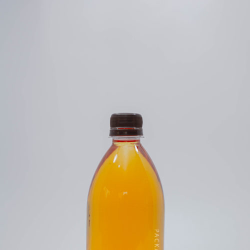 500ml Face bottles for juice and beverages