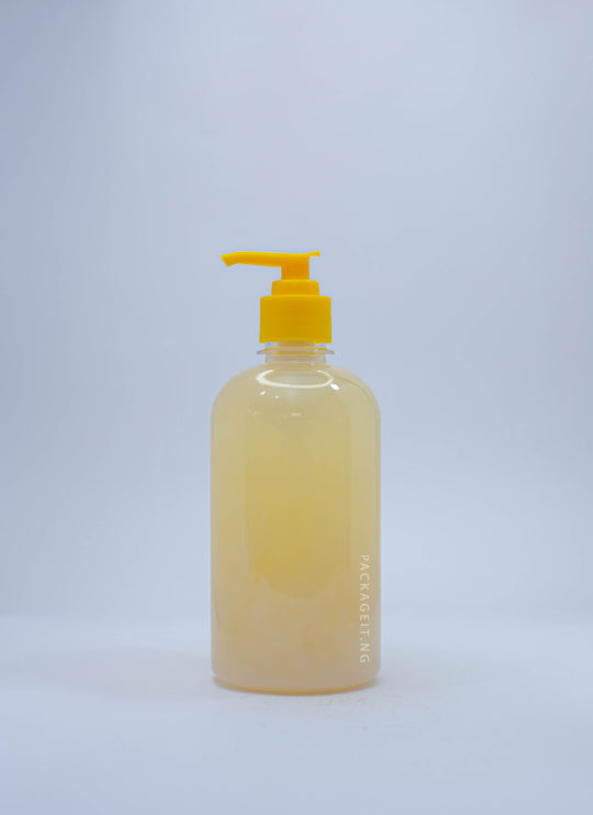 500ml jasmine with pump cap for soaps and cosmetics