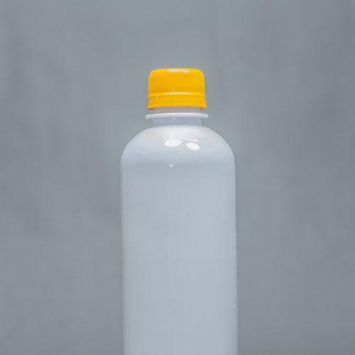 250ml Opaque Plastic Bottle BV With Screw Cap