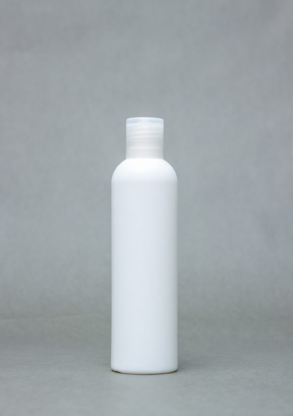 250ml opaque plastic bottle BOUNTY with flip cap