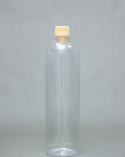 1L transparent Plastic Bottle JASMIN with Screw Cap
