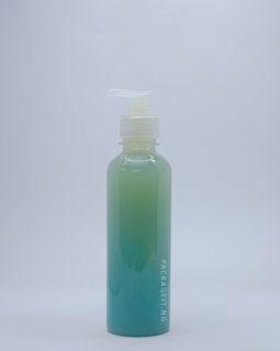 250ml bv transparent with pump cap