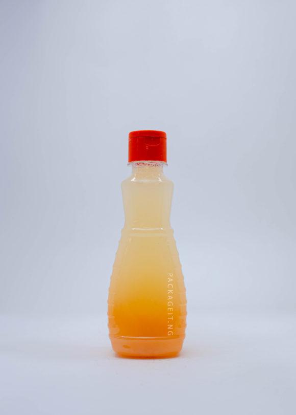 250ml Transparent Omoge Bottles
