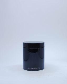 250ml Black Jar