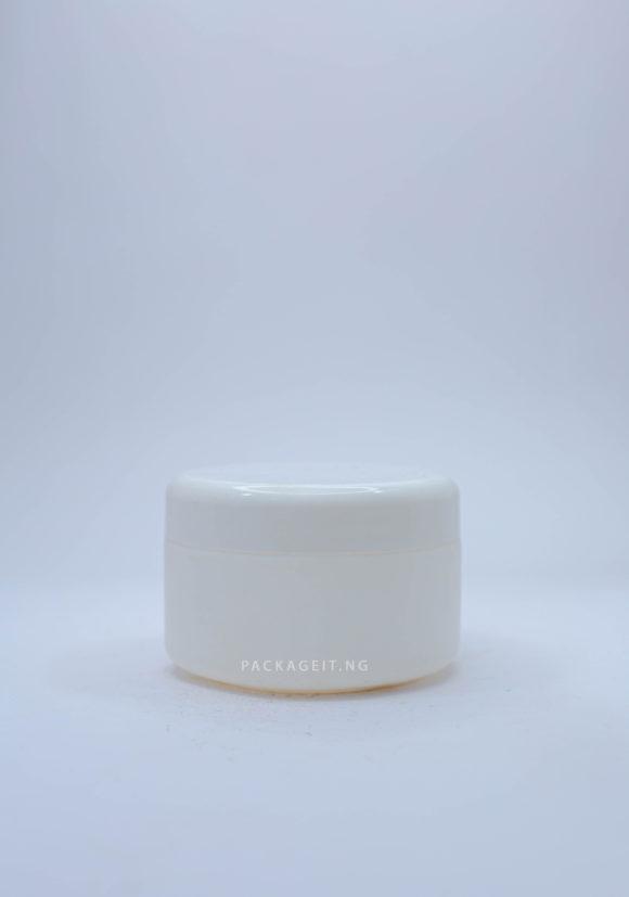 250ml Opaque Smooth cream Jar