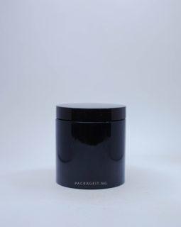 500ml Black Jar