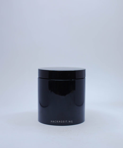 500ml Black Jar