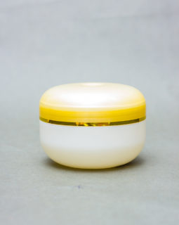 Cream jar With Dome Lids