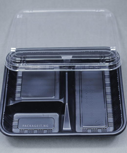 3 COMPARTMENT FOOD PACK