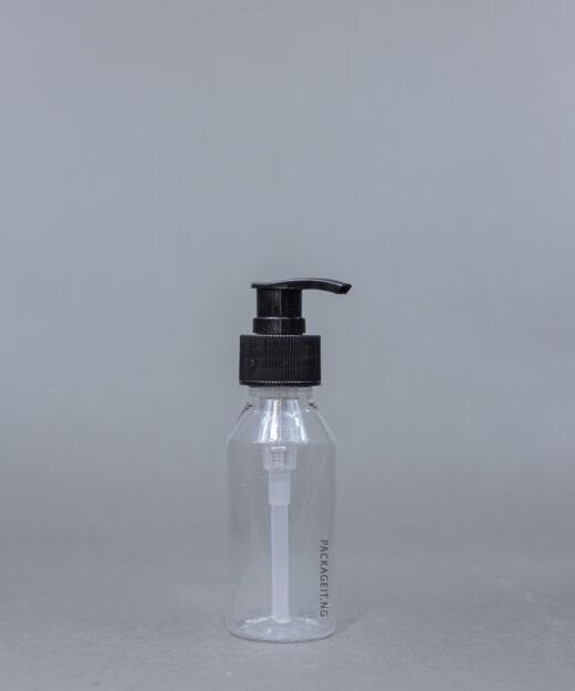 100 ml pet bottle with pump cap
