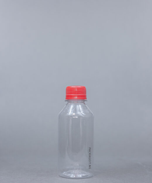 Pet bottle with screw cap
