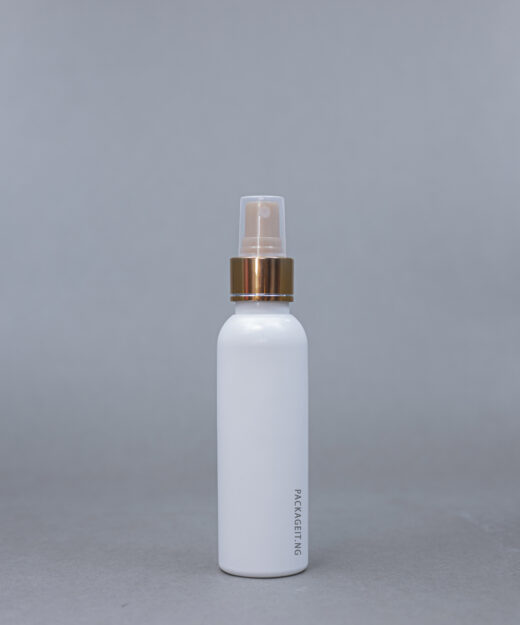 125 ml boston bottle with spray