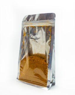 1- side silver foil gusset bag