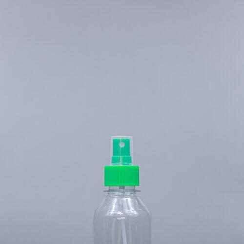 200 ml pet bottle with spray cap