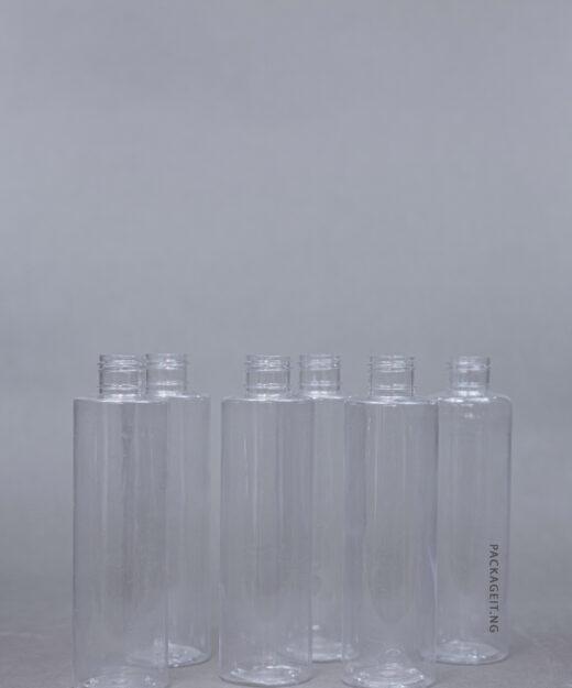 200 ml transparent edgy