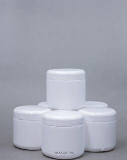 200 ml smooth cream cup - white