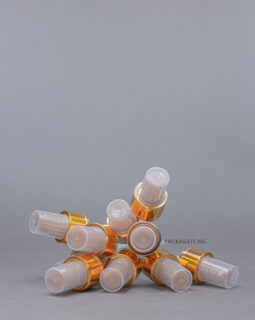 24 mm gold spray cap