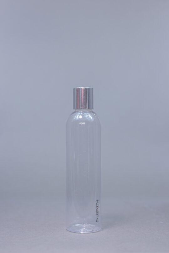 250 ml transparent Boston Bottle