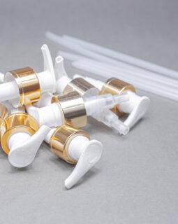 28 mm metallic pump cap