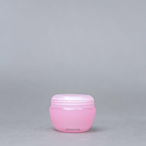 30 ml oval pink balm jar