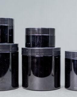 Premium Black Jars